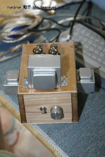 熊坛《音响发烧无线电》:自己做的第一个土炮:6p1 6j1